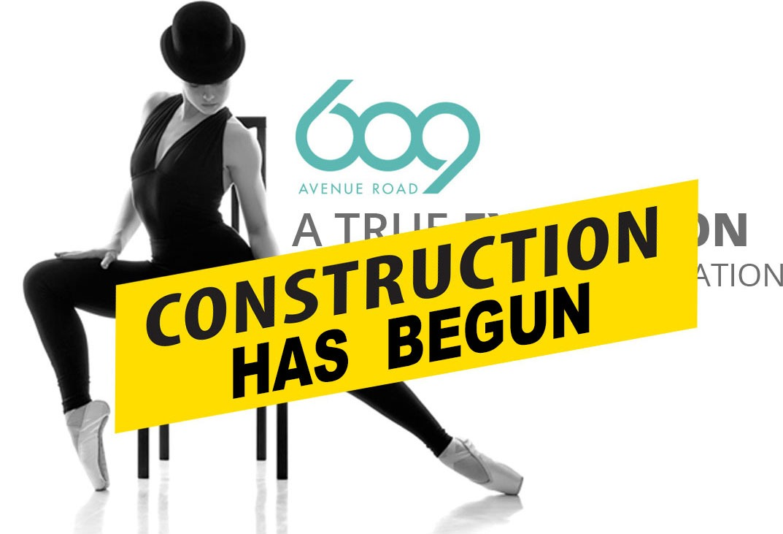 609 Avenue - Construction has begun